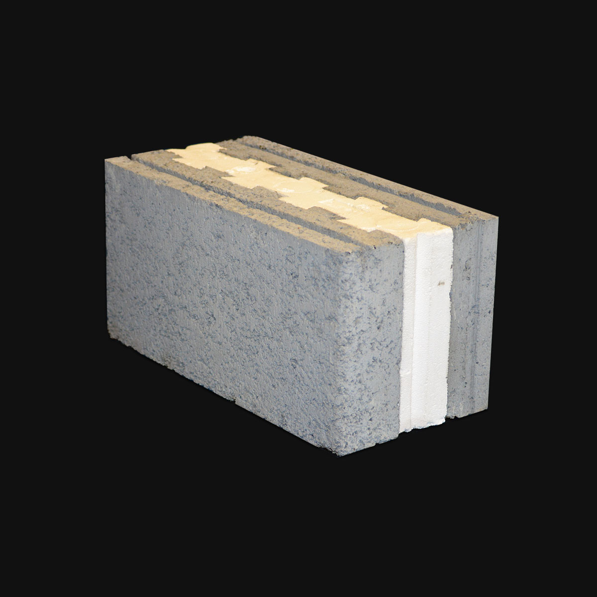 Mansoor concrete block industry llc concrete block for Insulated concrete block
